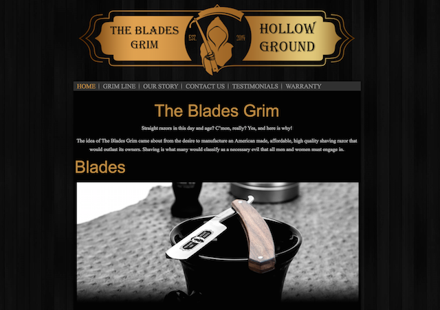 Blades Grim Website