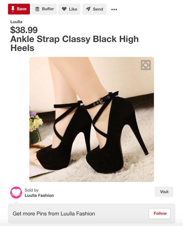 Pinterest Marketing Shoes