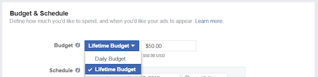 Restaurant Marketing Facebook Budget