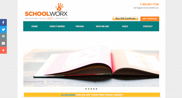SchoolWorx Mompreneur Website