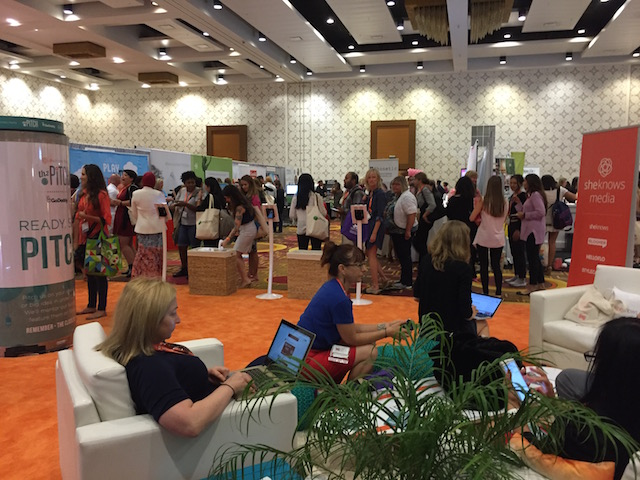 blogher16 expo hall