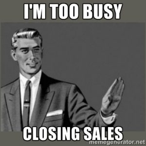 CRM Software Closing Sales