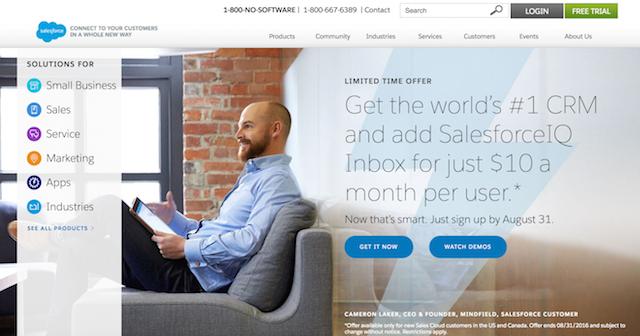 CRM Software Salesforce