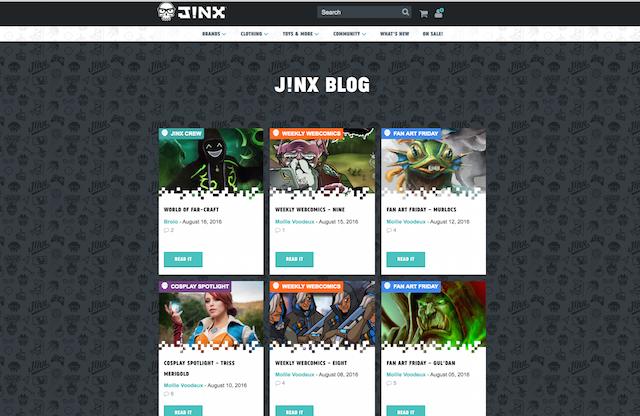 Jinx Blog