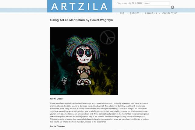 retail blogs artzila post