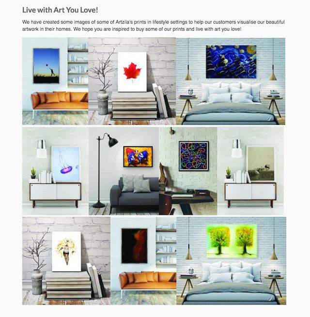 retail blogs artzila visual post