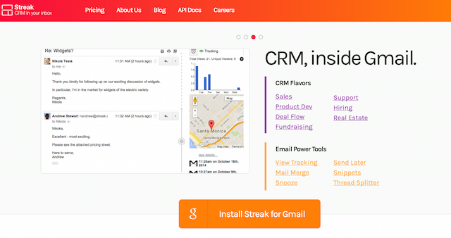 Streak CRM Software