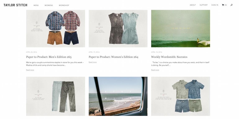 taylor stitch retail blog