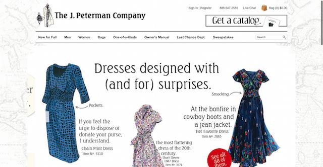 Brand Identity J. Peterman