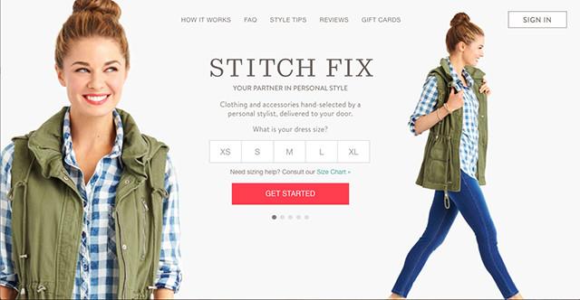 Brand Identity Stitch Fix