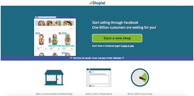 Facebook Store Shopial App