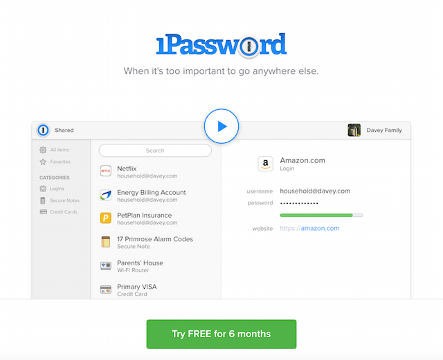 Home Office 1Password