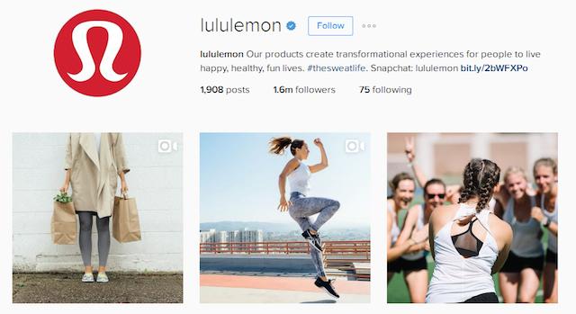 Make Money On Instagram Lululemon