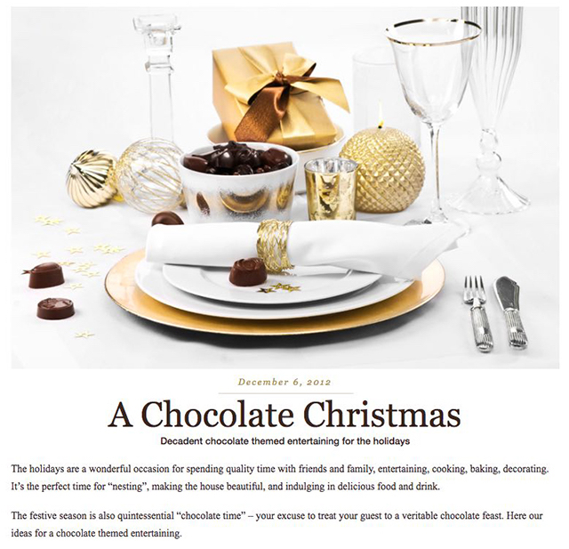Sales Funnel Chocolate Christmas