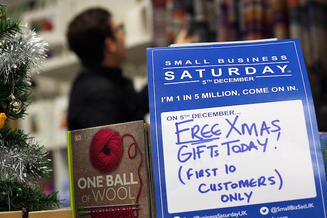 Small Business Saturday Promo