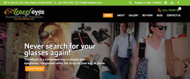 TravelEyez Homepage