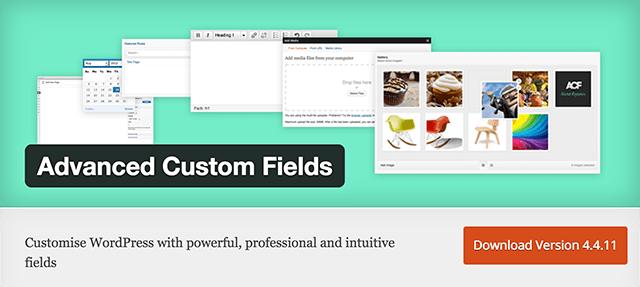 Advanced Custom Fields WordPress Plugin Directory