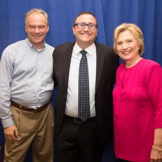 Alex Reber Hillary Clinton