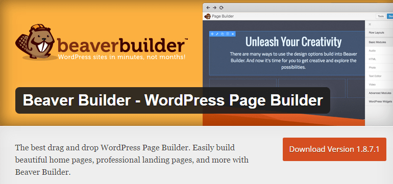 Beaver Builder WordPress Plugin