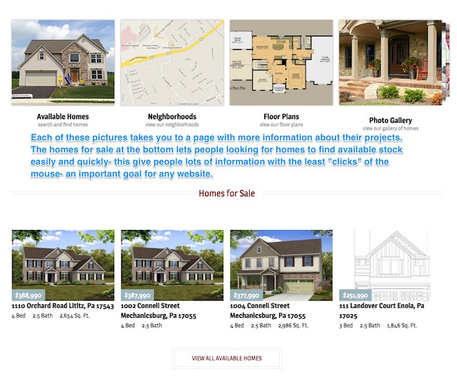 Builders Website Gallery
