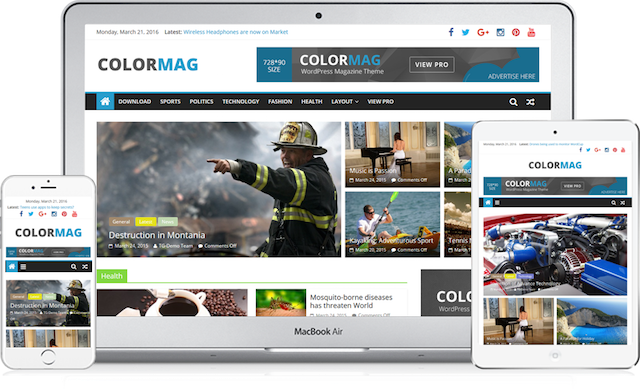 Free WooCommerce Themes ColorMag