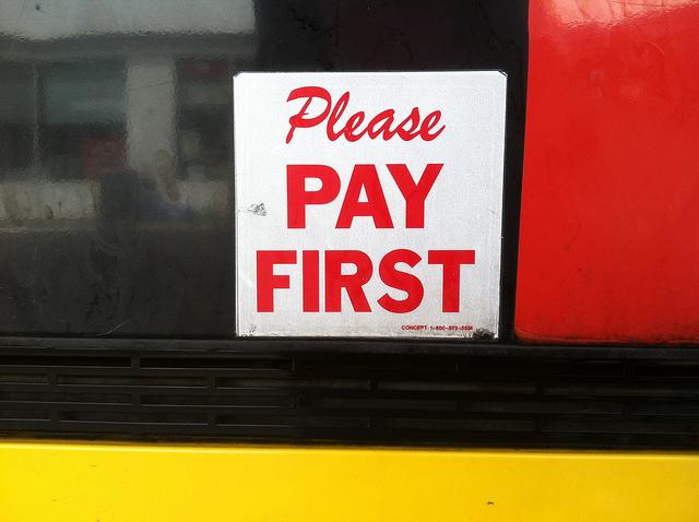 Get Paid Bill First