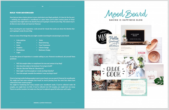 How to Design & Launch Your Blog MoodBoard