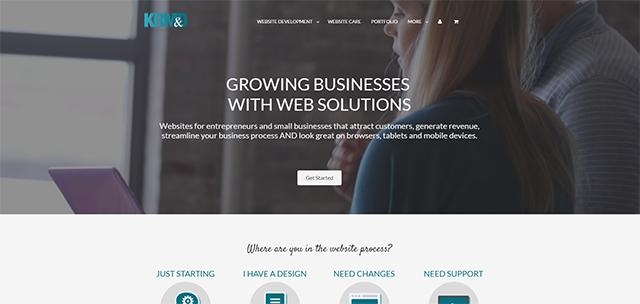 KR Media & Designs Website