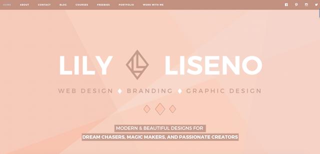 Lily Liseno Designs Homepage