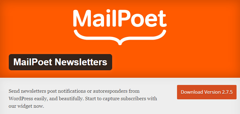 MailPoet WordPress Plugin