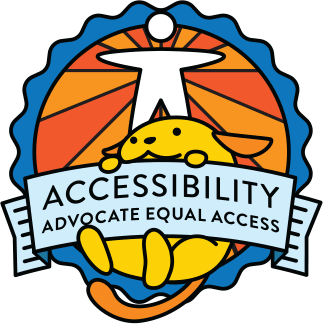 Wapuu collector pin for Accessibility