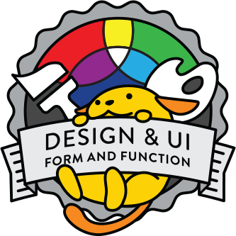 Wapuu collector pin for Design and UI