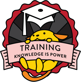 Wapuu collector pin for Training