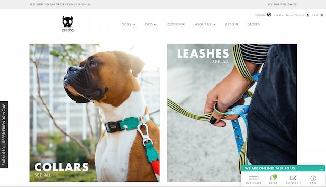 Zee-Dog US Homepage