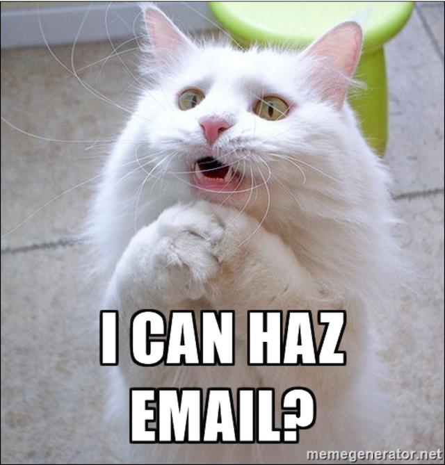 Business Email Etiquette Permission