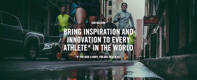 Nike Mission Statement]