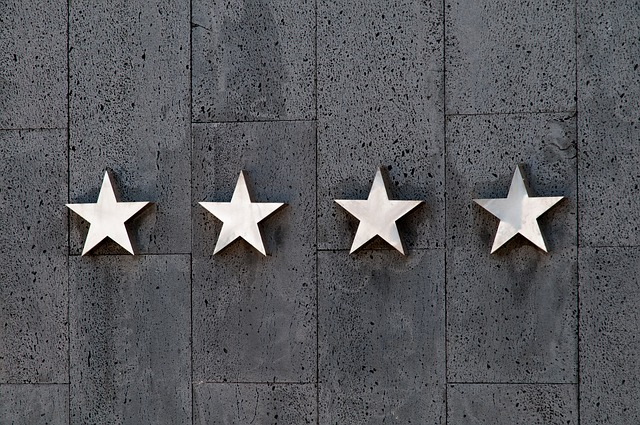 Online Reviews Four Stars