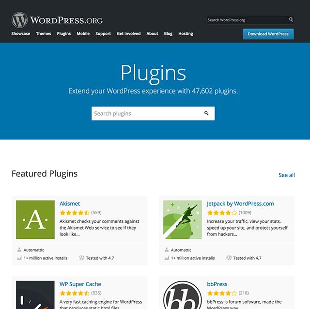 WordPress Takeaways Plugin Directory Redesign