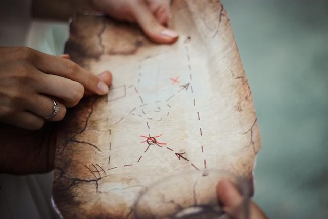 Blogger Business Plan Treasure Map
