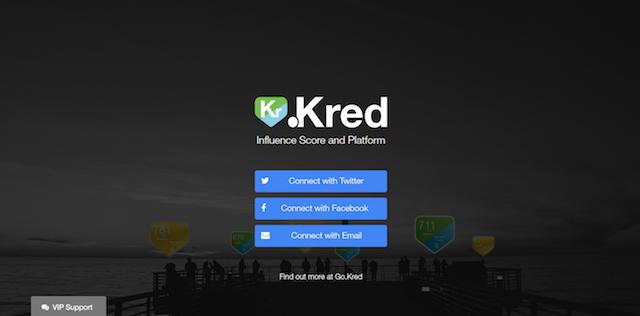 Measure Social Media Influence Kred