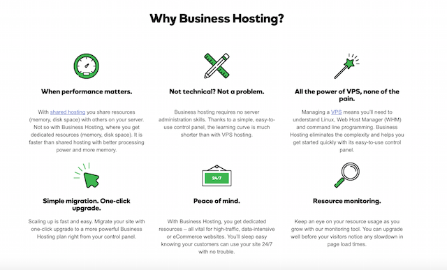 What Is Business Hosting Benefits