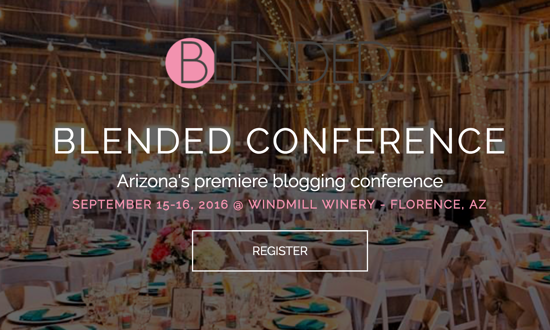Blogging Conferences Blended Conf