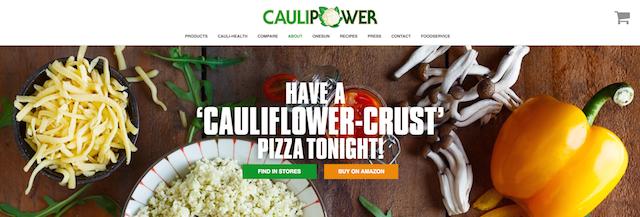CAULIPOWER Homepage