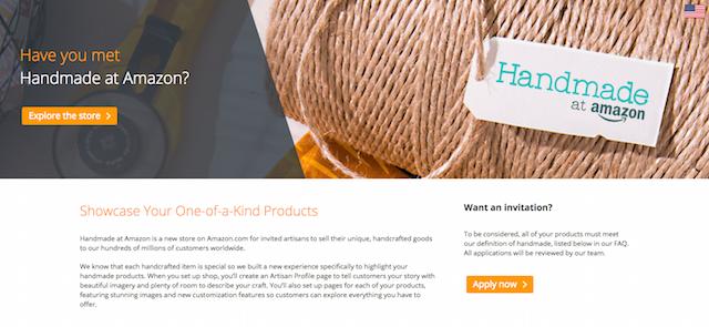 Choosing An Ecommerce Platform Amazon Handmade