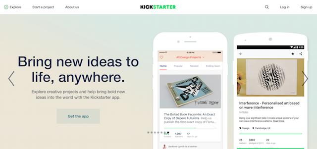 Crowdfunding Platforms Kickstarter