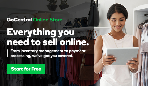 GoCentral Online Store Article Content Ad