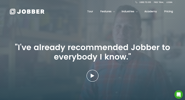 Increase Conversions Testimonials Jobber