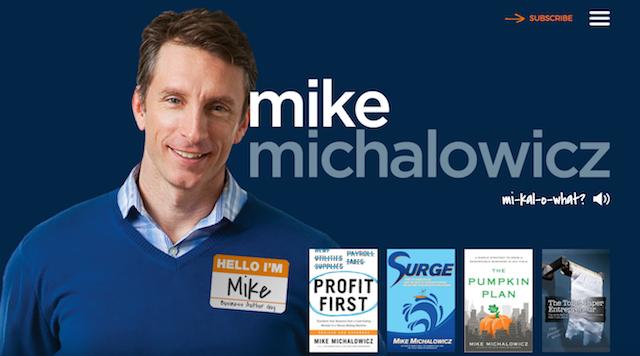 Mike Michalowicz Website