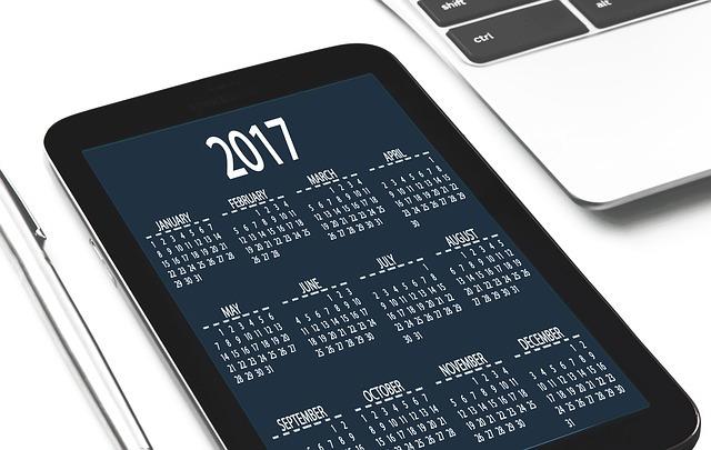 Tax Law Changes Calendar