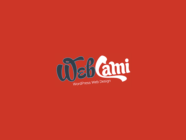 Webcami Site Design Logo
